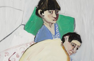 The Squid and the Whale, 2017, Chantal Joffe. Image courtesy of The Lowry