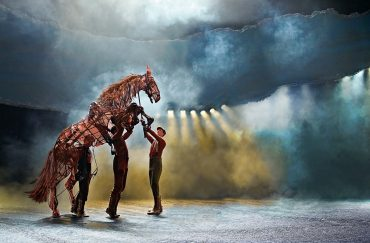 War Horse at the New London Theatre. Photo by Brinkhoff Mögenburg. Courtesy of IWM North. Lest We Forget