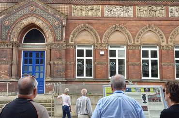 The Wedgwood Institite, Burslem summer in stoke on trent