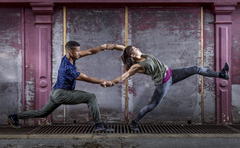 Amaranthine by Company Chameleon, Manchester. A series of FREE pop up dance events.