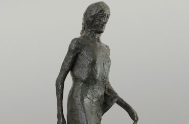 Elisabeth Frink - Walking Madonna- © Frink Estate and Archive executors. Courtesy of The Ingram Collection, Image © JP Bland 2016. Abbot Hall Art Gallery, Fragility and Power, Kendal, Cumbria