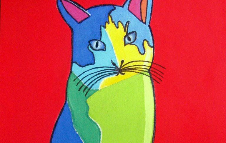 Paint Pop Art at Common with PopUp Painting