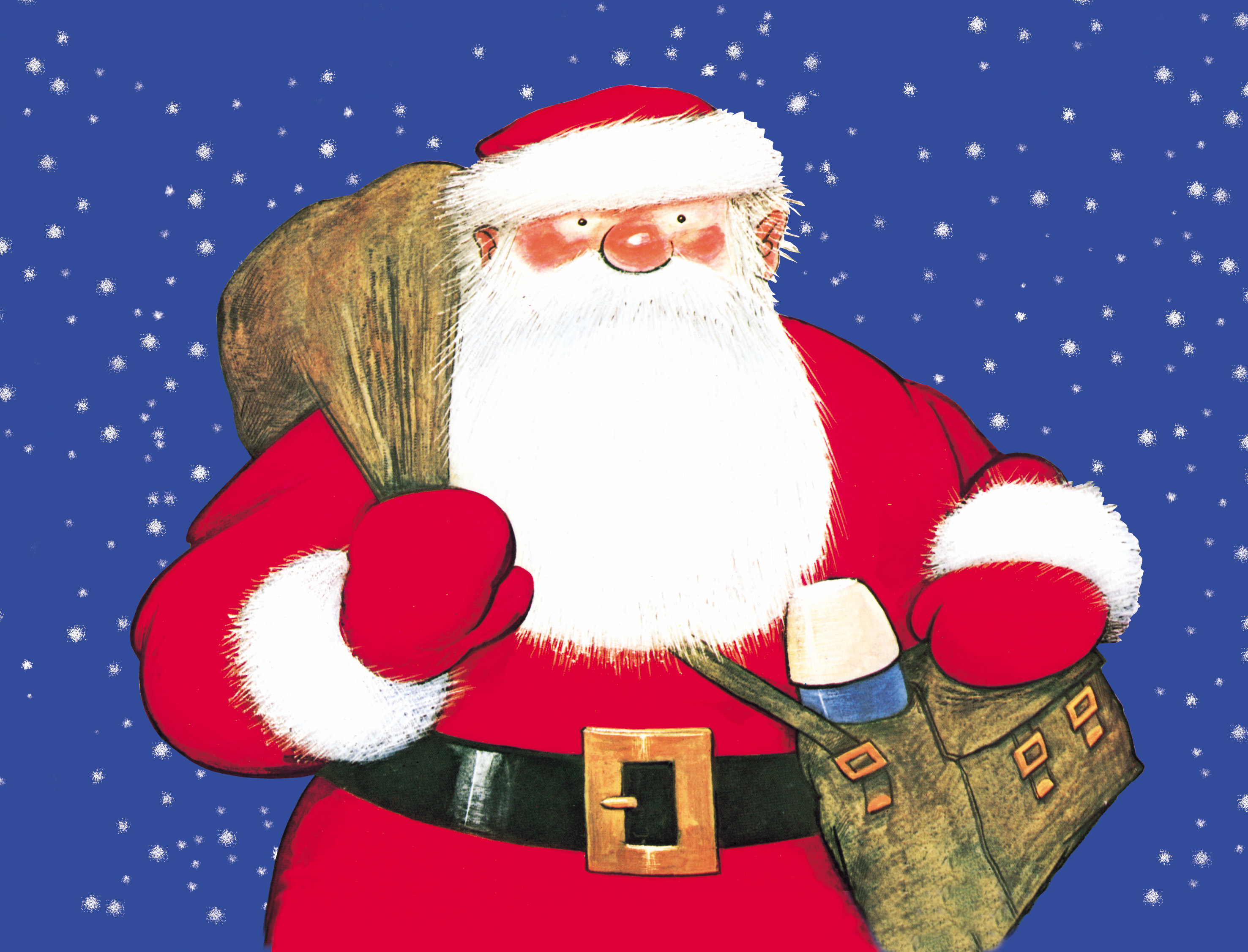 bbe6557cd8 Raymond Briggs  Father Christmas at Waterside - Creative Tourist