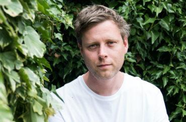 Author Max Porter.