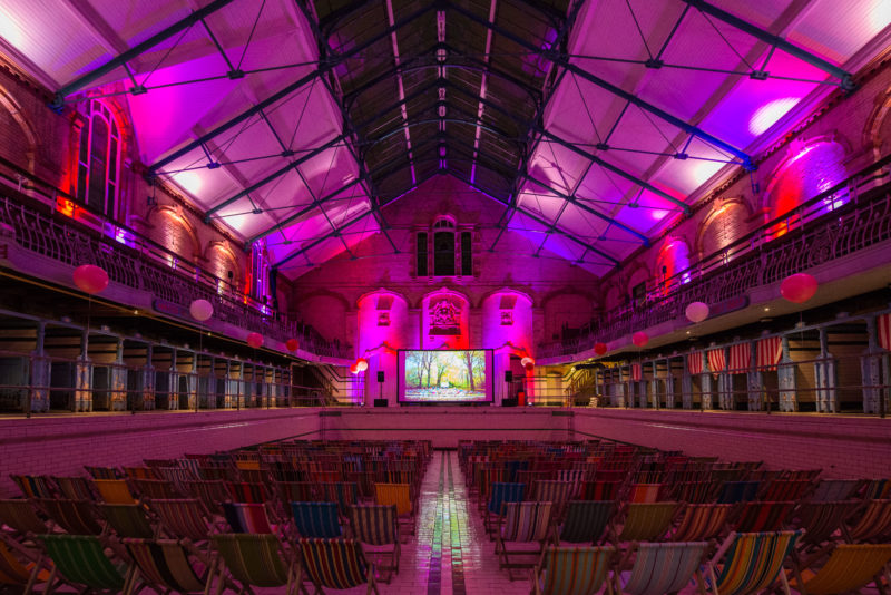 Valentine's Cinema at Victoria Baths