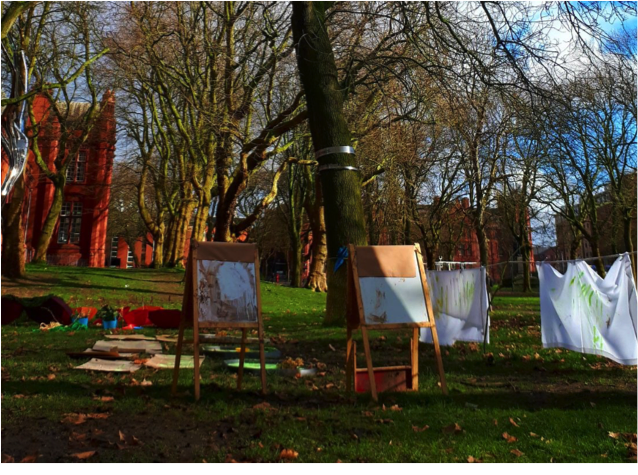 Outdoor Art Club at The Whitworth