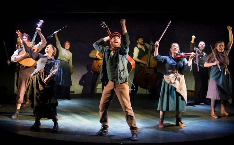 The Hired Man company at Oldham Coliseum