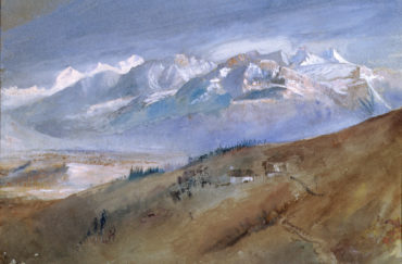 Ruskin, Turner and The Storm Cloud at Abbot Hall Art Gallery in Cumbria