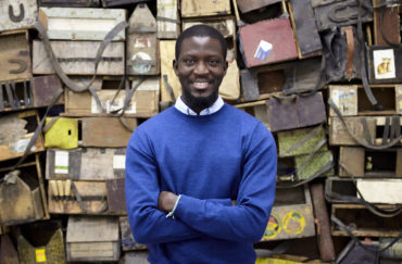 Ibrahim Mahama Photo © White Cube George Darrell. Courtesy of Manchester International Festival