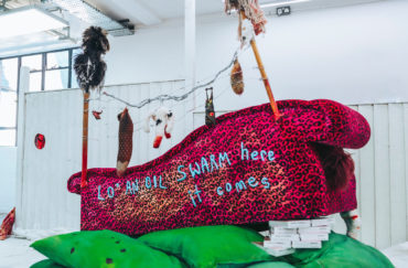 A Tittle-Tattle Tell-A-Tale Heart at Humber Street Gallery