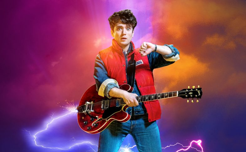 Back To The Future The Musical at Manchester Opera House at half term