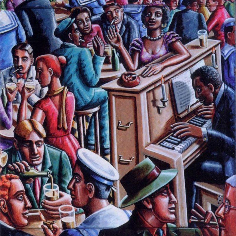 Fraternity Jazz Jam at the Thirsty Scholar