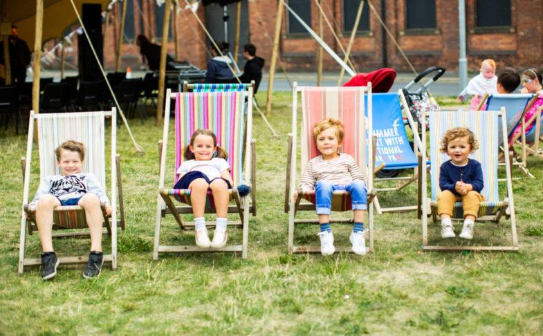 The Hepworth Wakefield Summer Fair summer holidays