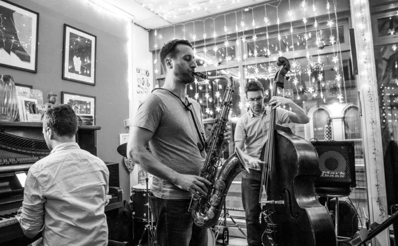 Jazz at the Deli llama