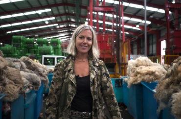Ella Doran: Sheep to Seat, Fleece to Floor at Yorkshire Sculpture Park