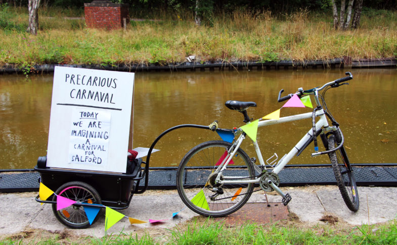 Precarious Carnaval at the Bridgewater Canal