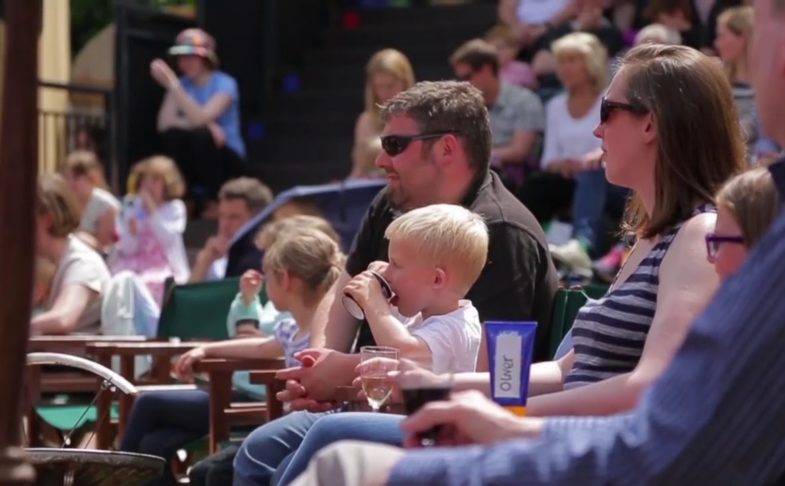 Henry V at Grosvenor Park Open Air Theatre