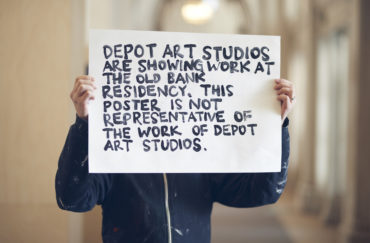 Depot Art Studios at The Old Bank, Manchester
