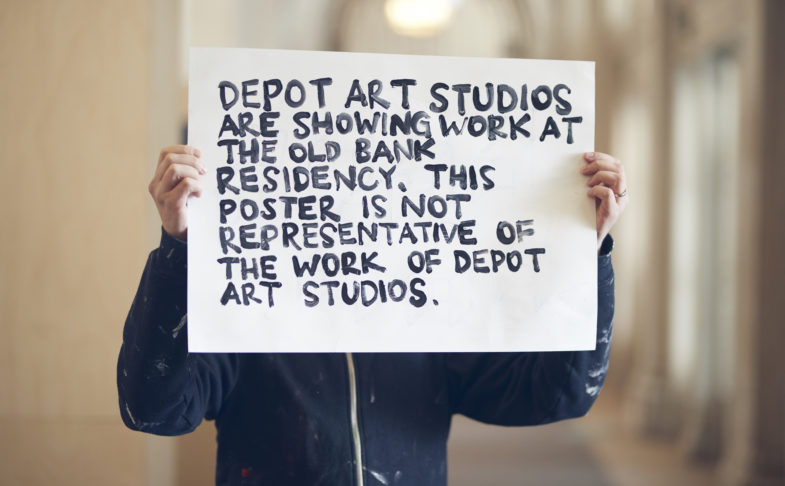 Depot Art Studios at The Old Bank, Manchester