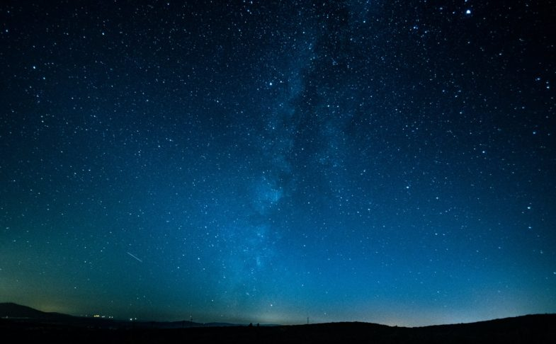 the night sky as explored in the planetarium shows