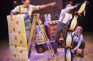 Cast members in Mr Popper's Penguins