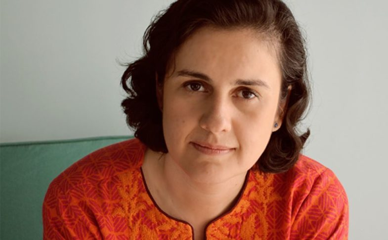 Author Kamila Shamsie.
