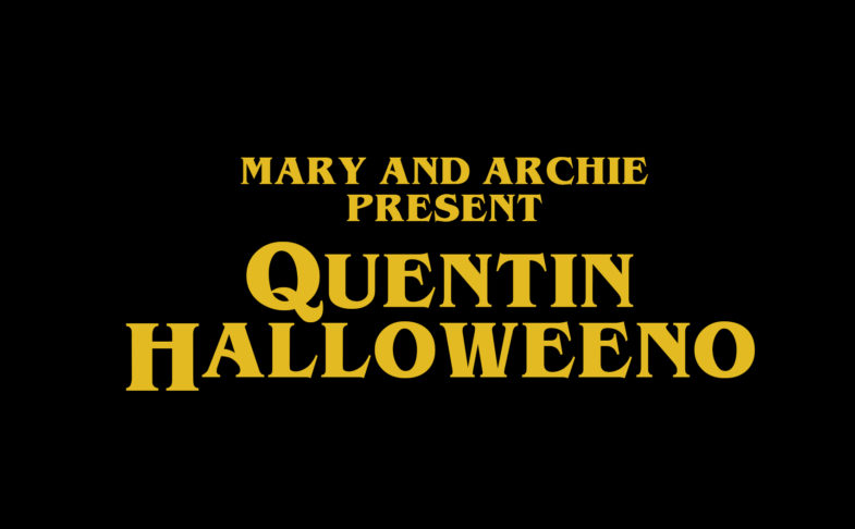 Quentin Halloweeno at mary and archie chorlton