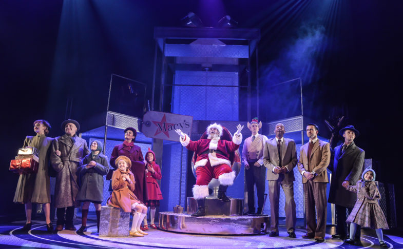 Miracle on 34th Street at Liverpool Playhouse. Photo credit: Robert Day.