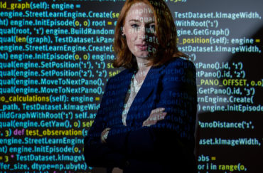 Hannah Fry presented this year's Ri Christmas lectures