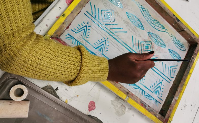 Introduction to Screen Printing at the Artworks in Halifax