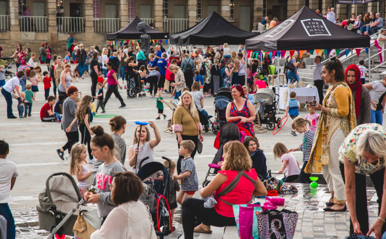 Alice Irwin: People Play Party at The Piece Hall in Halifax