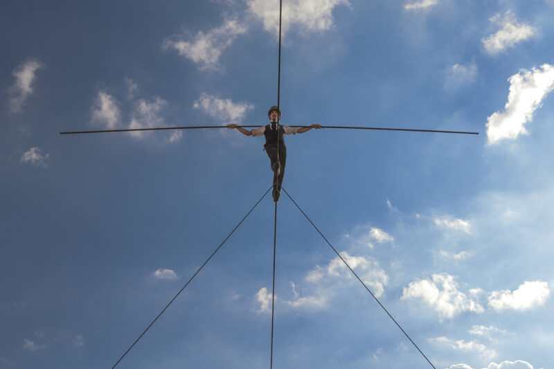 Timber Live 360° Treetop Tightrope