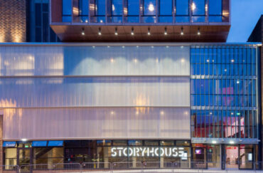 A Christmas Carol with Storyhouse. Image courtesy of Peter Cook.