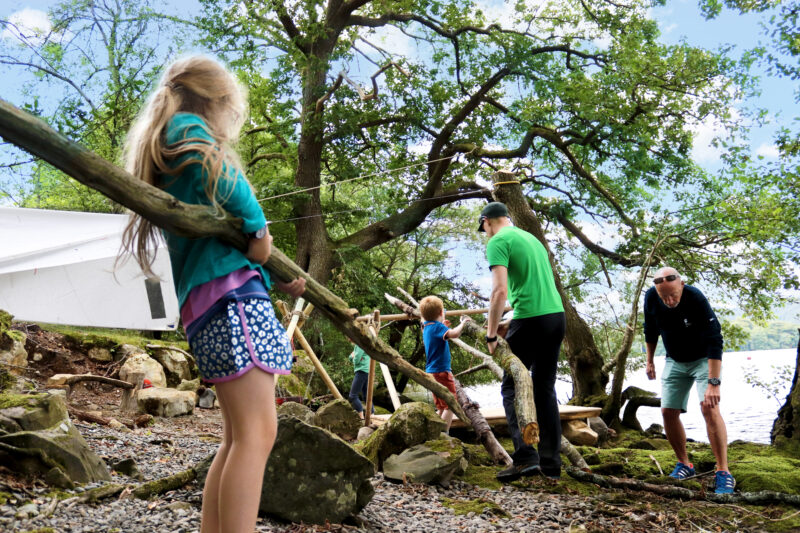 Swallows and Amazons Den Building