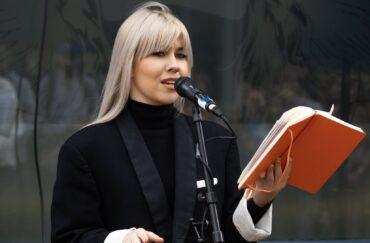 Poet Madelaine Kinsella