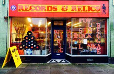 Blackpool record shop