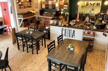 Coda Vinyl Cafe in Buxton