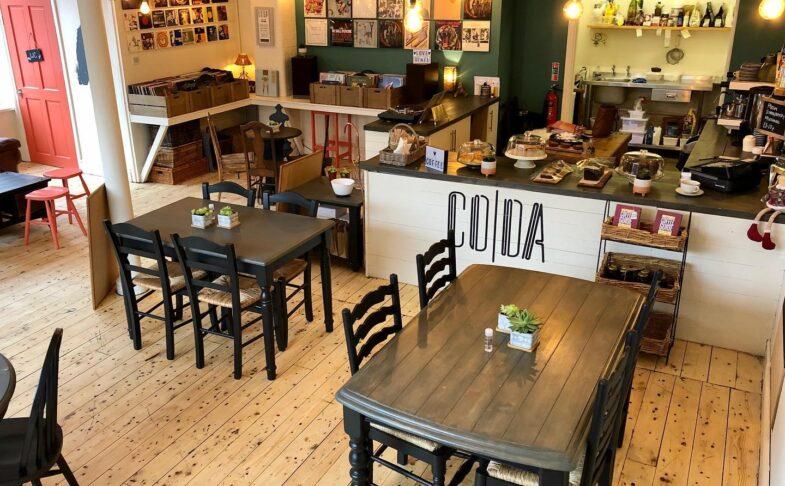 Coda Vinyl Cafe in Buxton