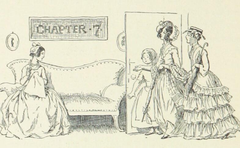 Cranford illustrations by Hugh Thomson 1898