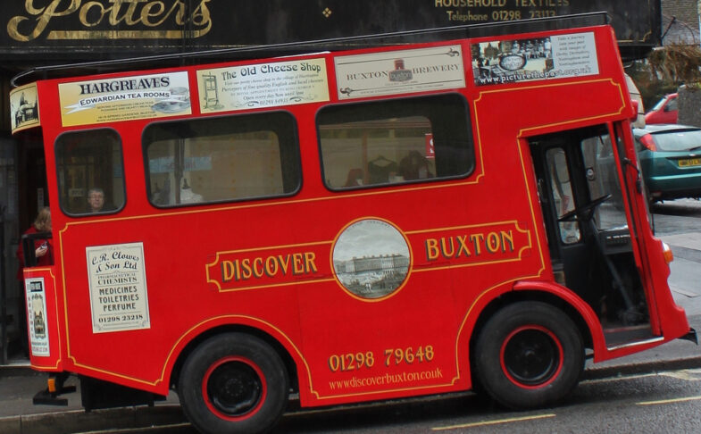 Discover Buxton Tram Tours