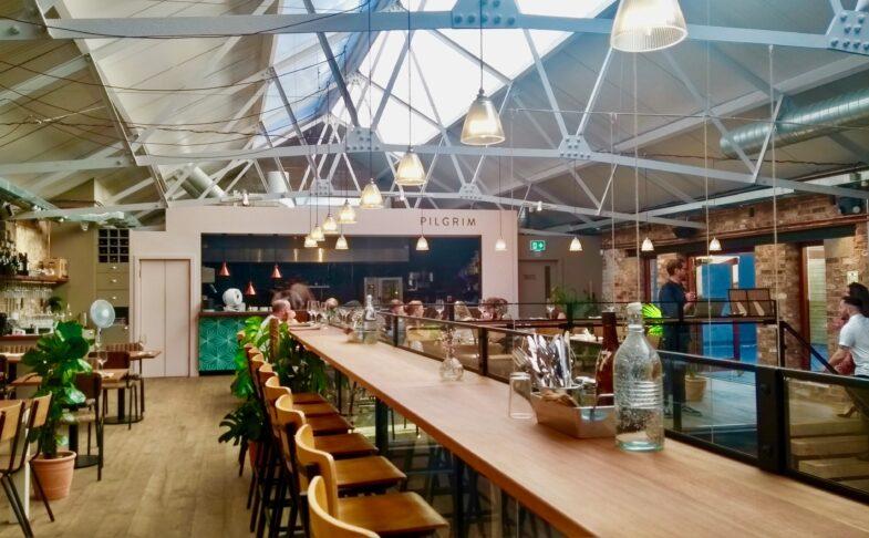 Inside Pilgrim Restaurant