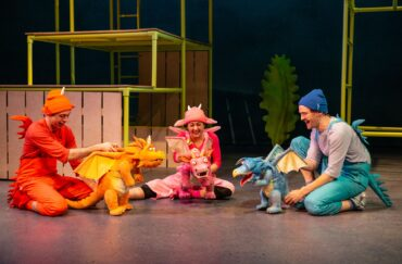 Zog Live onstage at The Lowry theatre