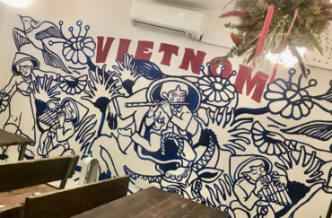 Wall art in VietNom