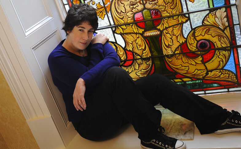 Author Joanne Harris. Photo by Kyte Photography