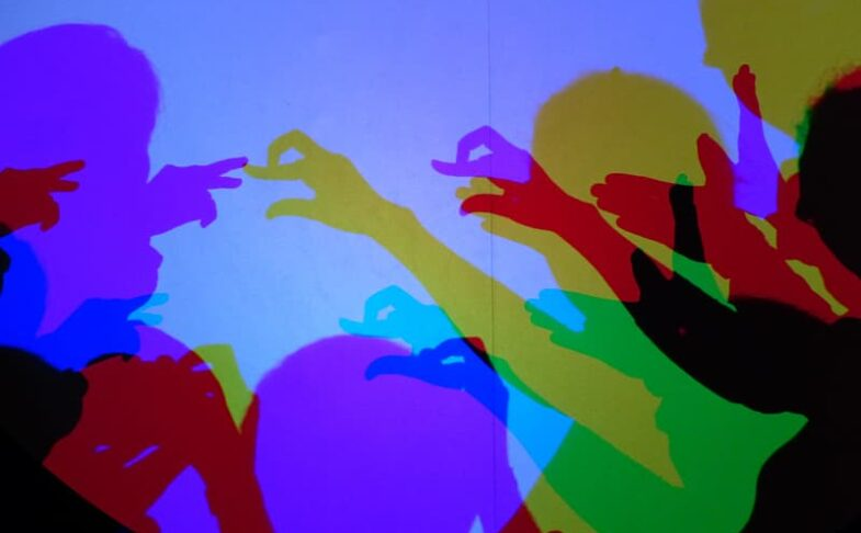 Family Art Workshop - Make a Shadow Theatre at The Tetley