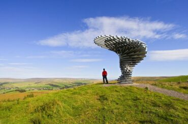 Burnley's Singing Ringing Tree