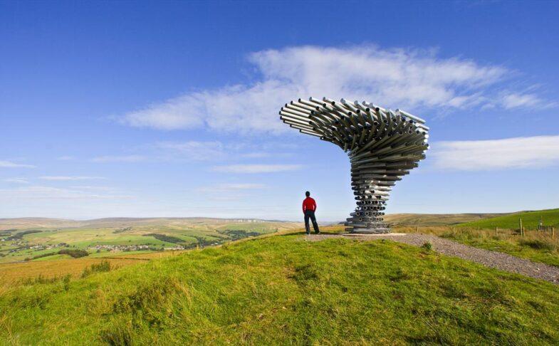Burnley's Singing Ringing Tree