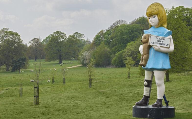 Damien Hirst at Yorkshire Sculpture Park