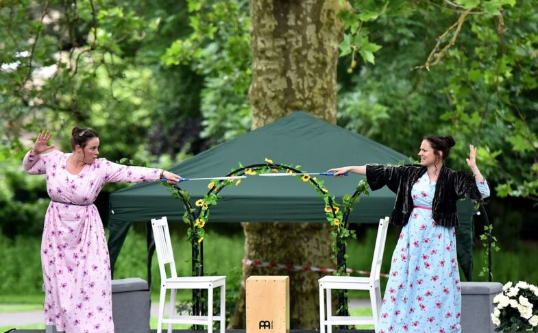 Pride and Prejudice at Sheffield Botanical Gardens