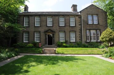 The Brontë Parsonage, Haworth from outside